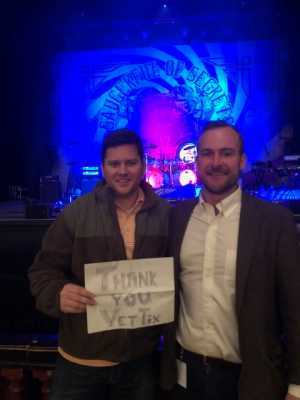 Timothy attended Nick Mason's Saucerful of Secrets - Pop on Apr 3rd 2019 via VetTix