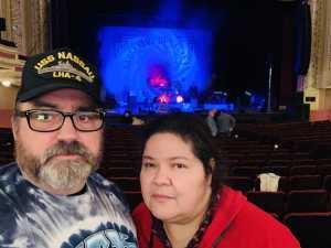 Todd attended Nick Mason's Saucerful of Secrets - Pop on Apr 3rd 2019 via VetTix