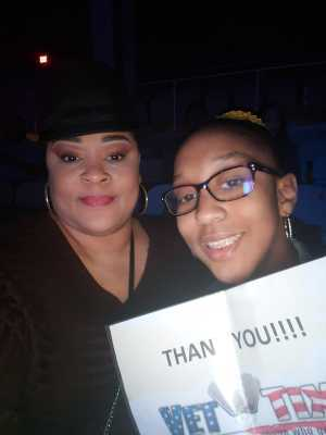 Courtney attended Krnb Smooth Spring Groove - R&b on Apr 13th 2019 via VetTix