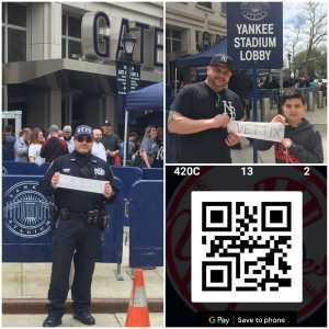 RAY attended New York Yankees vs. Kansas City Royals - MLB on Apr 21st 2019 via VetTix