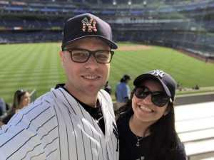 Joseph attended New York Yankees vs. Kansas City Royals - MLB on Apr 21st 2019 via VetTix