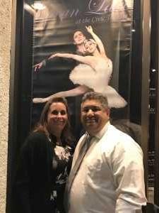 William attended California Ballet Company Presents: Cinderella - Dance on Apr 13th 2019 via VetTix