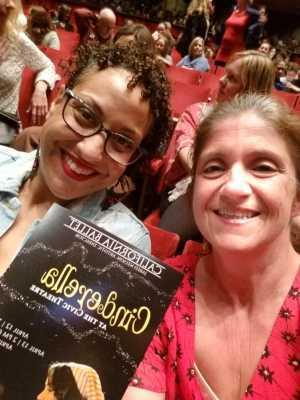 Khadija  attended California Ballet Company Presents: Cinderella - Dance on Apr 13th 2019 via VetTix