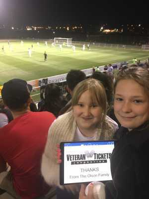 Sven attended FC Tucson vs. Toronto FC II - USL League 2 on Apr 13th 2019 via VetTix