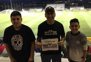 Abelardo attended FC Tucson vs. Toronto FC II - USL League 2 on Apr 13th 2019 via VetTix