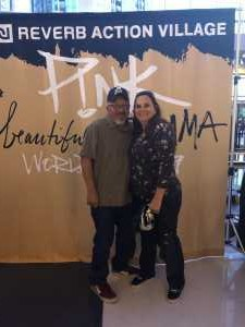 Victor attended P! Nk - Beautiful Trauma World Tour With Julia Michaels on Apr 15th 2019 via VetTix