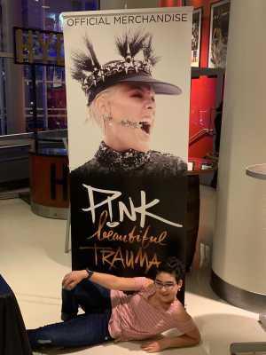 Jason attended P! Nk - Beautiful Trauma World Tour With Julia Michaels on Apr 15th 2019 via VetTix