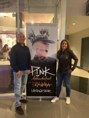 Michael attended P! Nk - Beautiful Trauma World Tour With Julia Michaels on Apr 15th 2019 via VetTix