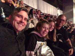 Andy attended P! Nk - Beautiful Trauma World Tour With Julia Michaels on Apr 15th 2019 via VetTix