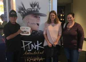 Click To Read More Feedback from P! Nk - Beautiful Trauma World Tour With Julia Michaels