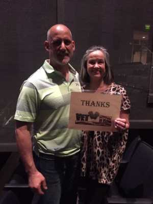samuel attended Larry the Cable Guy on May 17th 2019 via VetTix