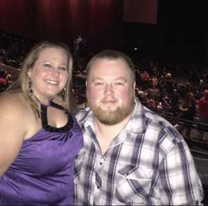Nicholas attended Larry the Cable Guy on May 17th 2019 via VetTix