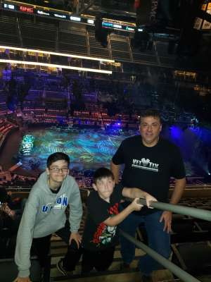 Frank attended Jurassic World Live Tour - Other on Oct 24th 2019 via VetTix