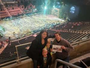 Arnold attended Jurassic World Live Tour - Other on Oct 24th 2019 via VetTix