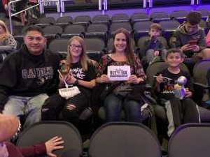 Emmanuel attended Jurassic World Live Tour - Other on Oct 24th 2019 via VetTix