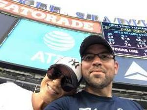 Daniel attended New York Yankees vs. Texas Rangers - MLB on Sep 4th 2019 via VetTix