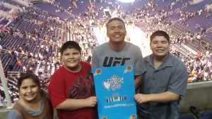 jasper attended Phoenix Suns vs. New Orleans Pelicans - NBA on Apr 5th 2019 via VetTix