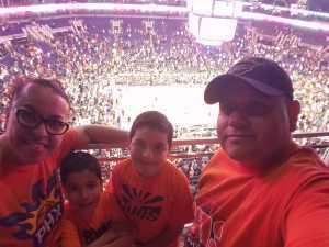 Luis attended Phoenix Suns vs. New Orleans Pelicans - NBA on Apr 5th 2019 via VetTix