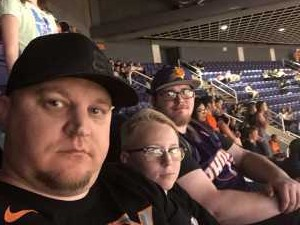 Jeremy attended Phoenix Suns vs. New Orleans Pelicans - NBA on Apr 5th 2019 via VetTix
