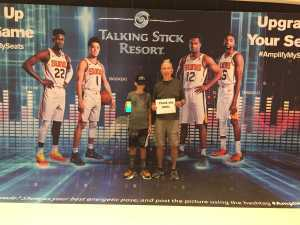 Dale attended Phoenix Suns vs. New Orleans Pelicans - NBA on Apr 5th 2019 via VetTix