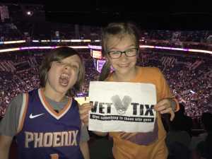 Michael attended Phoenix Suns vs. New Orleans Pelicans - NBA on Apr 5th 2019 via VetTix