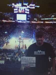 Victor attended Phoenix Suns vs. New Orleans Pelicans - NBA on Apr 5th 2019 via VetTix