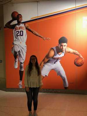 Linda attended Phoenix Suns vs. New Orleans Pelicans - NBA on Apr 5th 2019 via VetTix