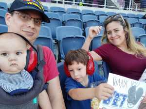 sebastian attended Monster Jam World Finals - Motorsports/racing on May 10th 2019 via VetTix