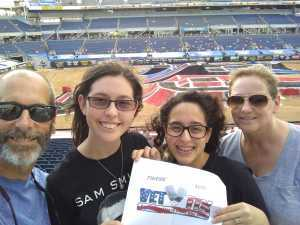Mark attended Monster Jam World Finals - Motorsports/racing on May 10th 2019 via VetTix