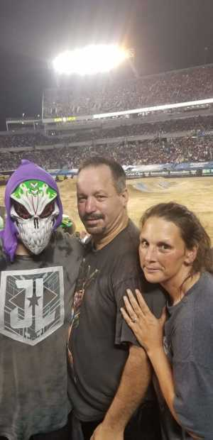 The Madden's  attended Monster Jam World Finals - Motorsports/racing on May 10th 2019 via VetTix
