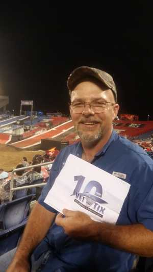 David attended Monster Jam World Finals - Motorsports/racing on May 10th 2019 via VetTix