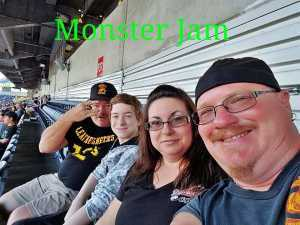 Kenneth attended Monster Jam World Finals - Motorsports/racing on May 10th 2019 via VetTix