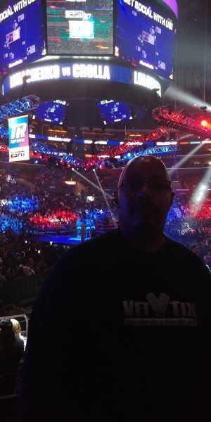 Devery attended Top Rank Presents: Lomachenko vs. Crolla on Apr 12th 2019 via VetTix