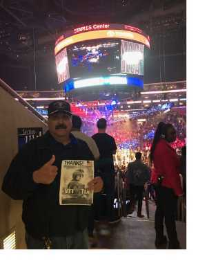 Ruben attended Top Rank Presents: Lomachenko vs. Crolla on Apr 12th 2019 via VetTix