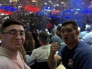 Edward attended Top Rank Presents: Lomachenko vs. Crolla on Apr 12th 2019 via VetTix