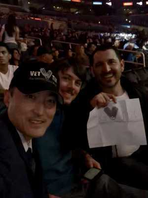Steven attended Top Rank Presents: Lomachenko vs. Crolla on Apr 12th 2019 via VetTix