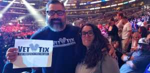 Eliot attended Top Rank Presents: Lomachenko vs. Crolla on Apr 12th 2019 via VetTix