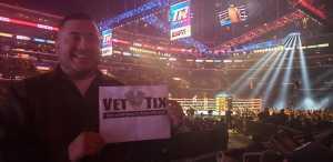 Alfredo  attended Top Rank Presents: Lomachenko vs. Crolla on Apr 12th 2019 via VetTix