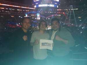 Gustavo attended Top Rank Presents: Lomachenko vs. Crolla on Apr 12th 2019 via VetTix