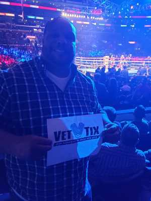 Darin attended Top Rank Presents: Lomachenko vs. Crolla on Apr 12th 2019 via VetTix