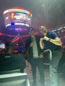 JOHN  attended Top Rank Presents: Lomachenko vs. Crolla on Apr 12th 2019 via VetTix