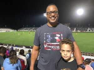 Bill & Joshua attended North Carolina Courage vs. Chicago Red Stars - National Womens Soccer League on Apr 13th 2019 via VetTix