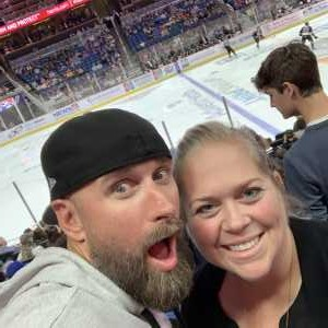 stephen attended Orlando Solar Bears vs. TBD - ECHL - 2019 Kelly Cup Playoffs - Round 1 - Game 1 on Apr 10th 2019 via VetTix