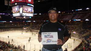 Eggman attended Orlando Solar Bears vs. TBD - ECHL - 2019 Kelly Cup Playoffs - Round 1 - Game 1 on Apr 10th 2019 via VetTix