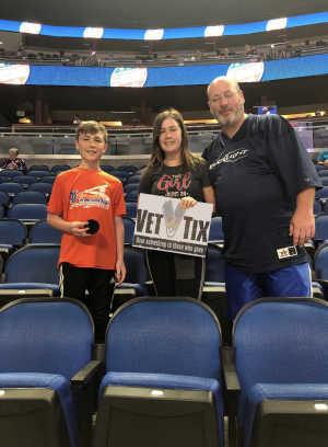 Robert attended Orlando Solar Bears vs. TBD - ECHL - 2019 Kelly Cup Playoffs - Round 1 - Game 1 on Apr 10th 2019 via VetTix