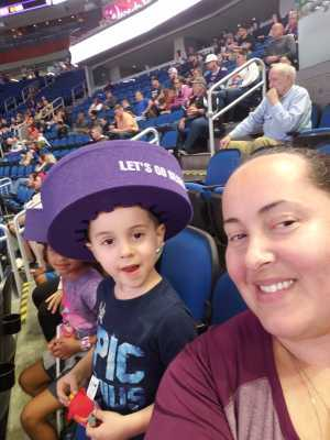 Amber attended Orlando Solar Bears vs. TBD - ECHL - 2019 Kelly Cup Playoffs - Round 1 - Game 1 on Apr 10th 2019 via VetTix