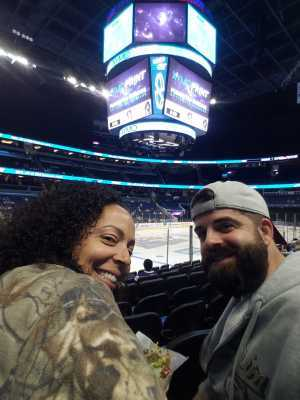 Jason attended Orlando Solar Bears vs. TBD - ECHL - 2019 Kelly Cup Playoffs - Round 1 - Game 1 on Apr 10th 2019 via VetTix