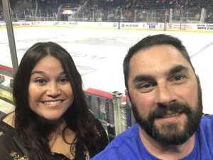 Rick Zacharko attended Orlando Solar Bears vs. TBD - ECHL - 2019 Kelly Cup Playoffs - Round 1 - Game 1 on Apr 10th 2019 via VetTix