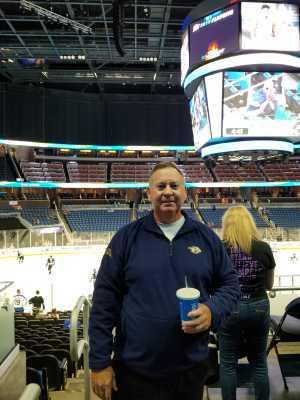Jeffrey attended Orlando Solar Bears vs. TBD - ECHL - 2019 Kelly Cup Playoffs - Round 1 - Game 1 on Apr 10th 2019 via VetTix