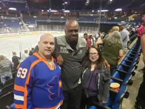 Ron attended Orlando Solar Bears vs. TBD - ECHL - 2019 Kelly Cup Playoffs - Round 1 - Game 1 on Apr 10th 2019 via VetTix